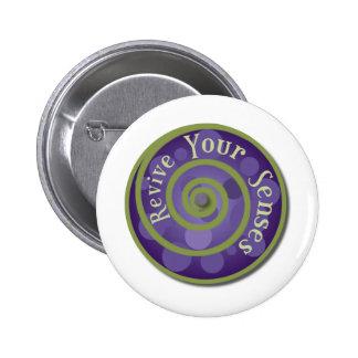 Revive Your Senses Buttons
