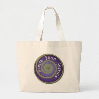 Revive Your Senses Large Tote Bag