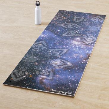 Revive Your Spirit Mandala Stars Yoga Mat