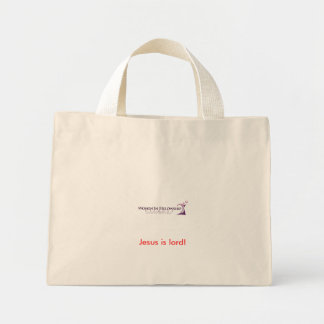 REVIVED COPY! SHEILA, Jesus is lord! Mini Tote Bag