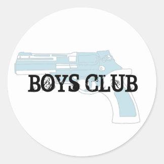 revo, BOYS CLUB Classic Round Sticker