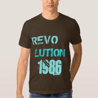 REVO LUTION 1986 T SHIRT