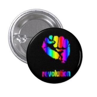 Revo Rainbow Button/Phoenix Pinback Button