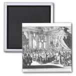 Revocation of the Edict of Nantes 2 Inch Square Magnet