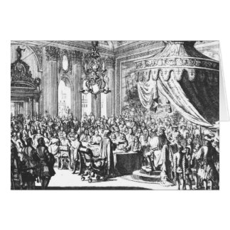 Revocation of the Edict of Nantes Card