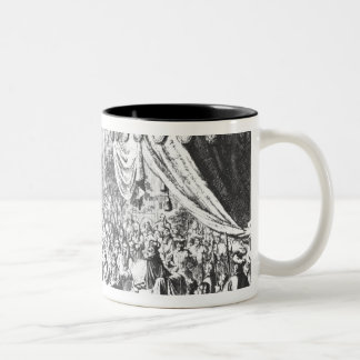 Revocation of the Edict of Nantes Two-Tone Coffee Mug