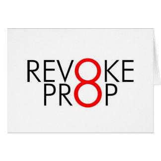 Revoke 8 Notecard