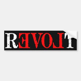 Revolt Bumper Sticker