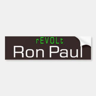rEVOLt Car Bumper Sticker