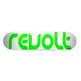 Revolt-Evolve White Custom Skateboard