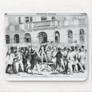 Revolt in Vienna Mousepad