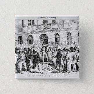 Revolt in Vienna Pinback Button