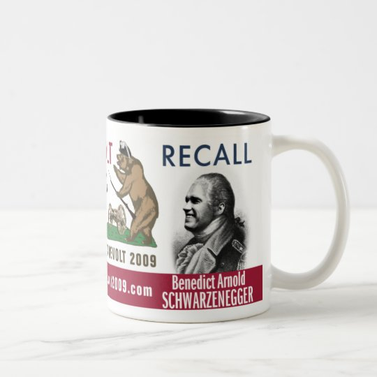 Revolt Like 1776 - Recall Benedict Arnold Mug