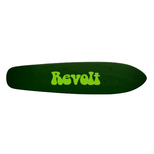 Revolt - Martian Green on Dk Green Skateboard