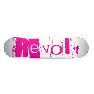 Revolt Pink Casper Skate Board Deck