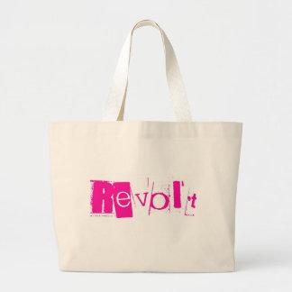 Revolt Pink Grande Tote Jumbo Tote Bag