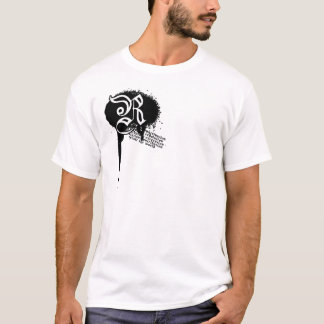Revolt World Splatter Wht T-Shirt
