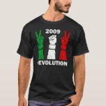 Revolución 2009 (oscuridad) de Irán Playera