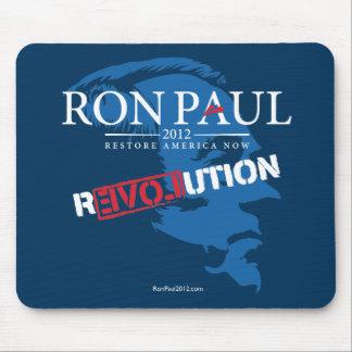 Revolución 2012 de Ron Paul Alfombrillas De Raton