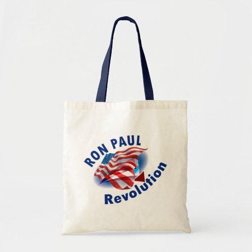 Revolución 2012 de Ron Paul Bolsas De Mano