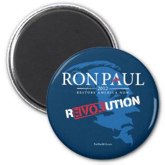 Revolución 2012 de Ron Paul Imanes De Nevera