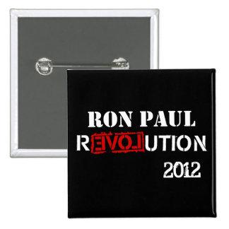 Revolución 2012 de Ron Paul Pin