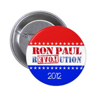Revolución 2012 de Ron Paul Pin Redondo De 2 Pulgadas