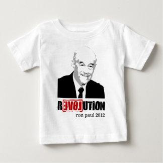 Revolución 2012 de Ron Paul Playera De Bebé