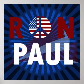 Revolución 2012 de Ron Paul Póster