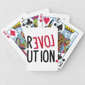 Revolución <3 del AMOR Barajas De Cartas