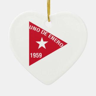 Revolución Adorno Navideño De Cerámica En Forma De Corazón