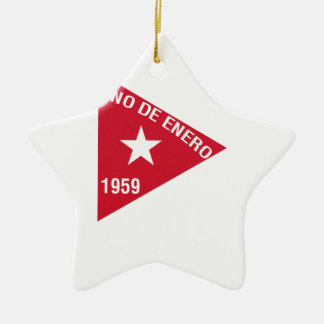 Revolución Adorno Navideño De Cerámica En Forma De Estrella