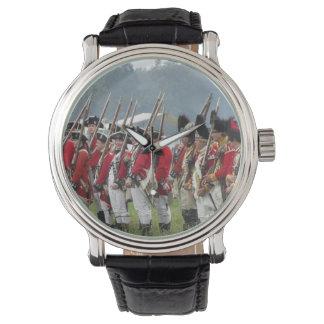 Revolución americana, reloj británico de los