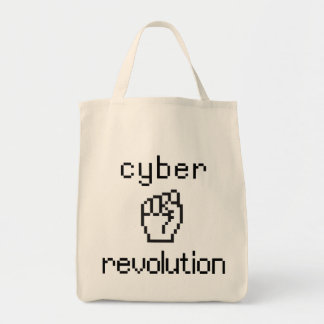 Revolución cibernética bolsa tela para la compra
