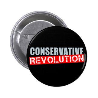 Revolución conservadora pin redondo de 2 pulgadas