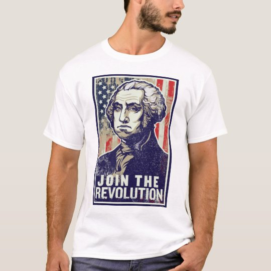 Revolución de George Washington Playera