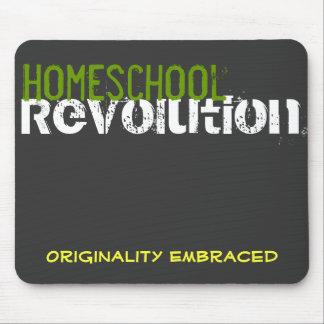 Revolución de Homeschool - originalidad abrazada Alfombrilla De Ratones