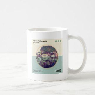 Revolución de la fiesta del té taza de café