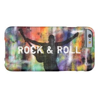 Revolución de la roca y del rollo funda para iPhone 6 barely there