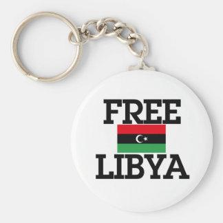 Revolución de Libia Llavero Redondo Tipo Pin