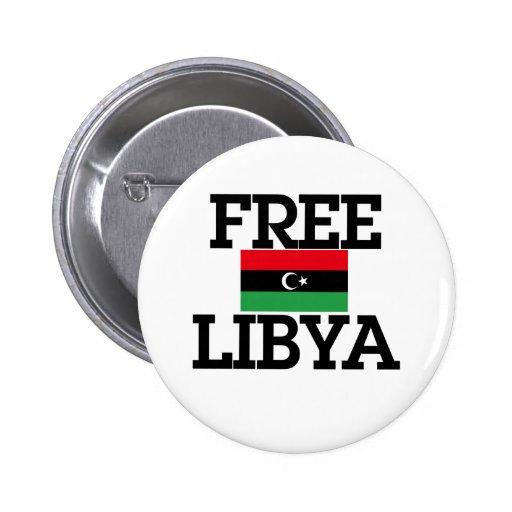 Revolución de Libia Pins