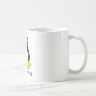 Revolución de Linux Taza De Café