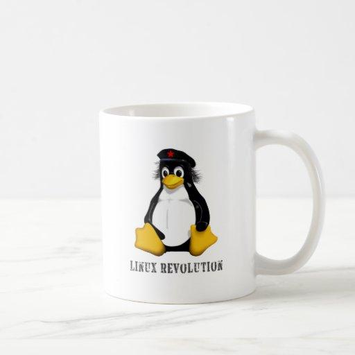 Revolución de Linux Tazas De Café
