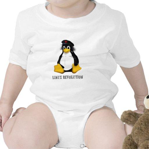 Revolución de Linux Traje De Bebé