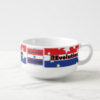 Revolución de los E.E.U.U. Cuenco Para Sopa