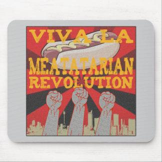 Revolución de Meatatarian del la de Viva Alfombrillas De Ratones