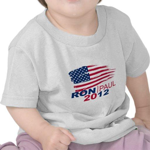 Revolución de Ron Paul 2012 para el presidente Camiseta