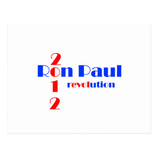 Revolución de Ron Paul 2012 Tarjeta Postal