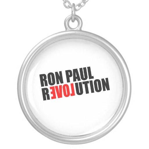 REVOLUCIÓN DE RON PAUL COLGANTE REDONDO