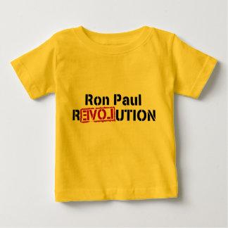 revolución de Ron Paul del bebé Playera De Bebé